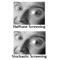 pre press stochastic screening